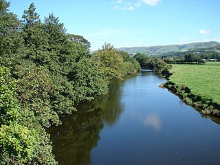 River Dovey river in Wales, United Kingdom