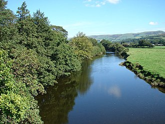 River Dovey - The River Dyfi north of Machynlleth