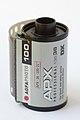 Agfaphoto APX 100 (new emulsion) 135 film cartridge 01.jpg