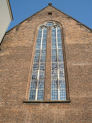 Agnietenkapel - Image: Agnietenkapel stained glass windows