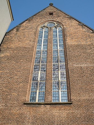 Agnietenkapel - Image: Agnietenkapel stained glass windows