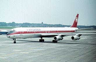Douglas DC-8 - Air Canada DC-8-61