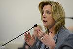 Air Force Secretary Deborah Lee James testifies before the House Appropriations Committee's defense subcommittee in Washington, D.C 150227-F-EK235-231.jpg