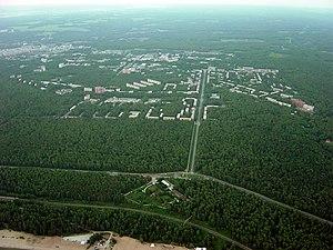 Akademgorodok - Aerial view of Akademgorodok