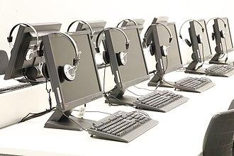 Al-Quds College - Image: Al Quds College Desktops of Library