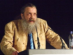 Alan Moore speaking at TAM London 2010.jpg