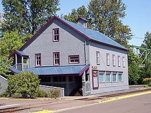 National Register of Historic Places listings in Linn County, Oregon - Image: Albany Custom Mill