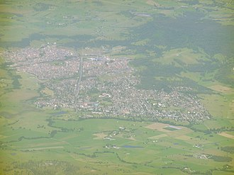 Albion Park, New South Wales - An aerial picture of the suburb