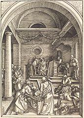 Jésus et les docteurs dans le Temple