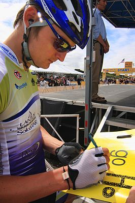 Aldo Ino Ilešič at Tour of California 2010.jpg