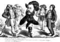 Alex., Sander & Co. - Amŭ venitŭ, Beizade, să ne plătesci ostenélele, Ghimpele, 31 oct 1866.png