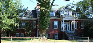Abingdon Historic District - Alexander Findlay House, Abingdon, VA.