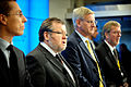 Alexander Stubb Finland, ossur Skarphedinsson Island, carl Bildt Sverige och Per Stig Moelle Danmark. Nordiska radets session 2009.jpg