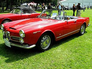 English: Subject:Alfa Romeo 2600 Spider Tourin...