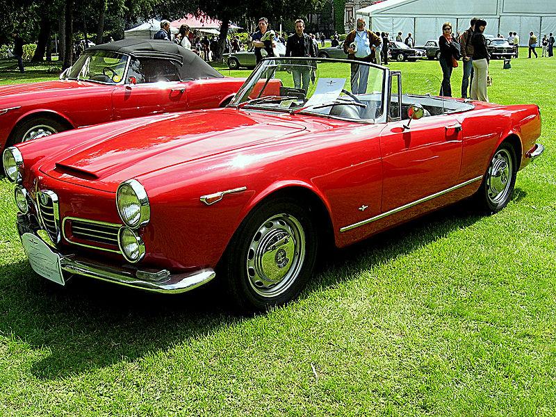 800Px Alfa Romeo 2600 Spider Touring