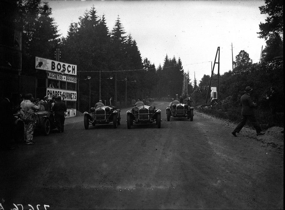 Alfa Romeos at the 1930 24 Hours of Spa