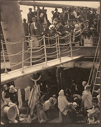 SS Kaiser Wilhelm II - The Steerage by Alfred Stieglitz. This version was published in 291 in 1915.