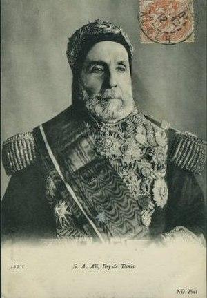 Ali III ibn al-Husayn - Ali III Bey (Bey of Tunis, Tunisia)