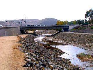 Aliso Creek (Orange County) River in the United States of America