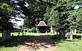 All Saints Church, Hilgay, Norfolk - Lych gate - geograph.org.uk - 886242.jpg