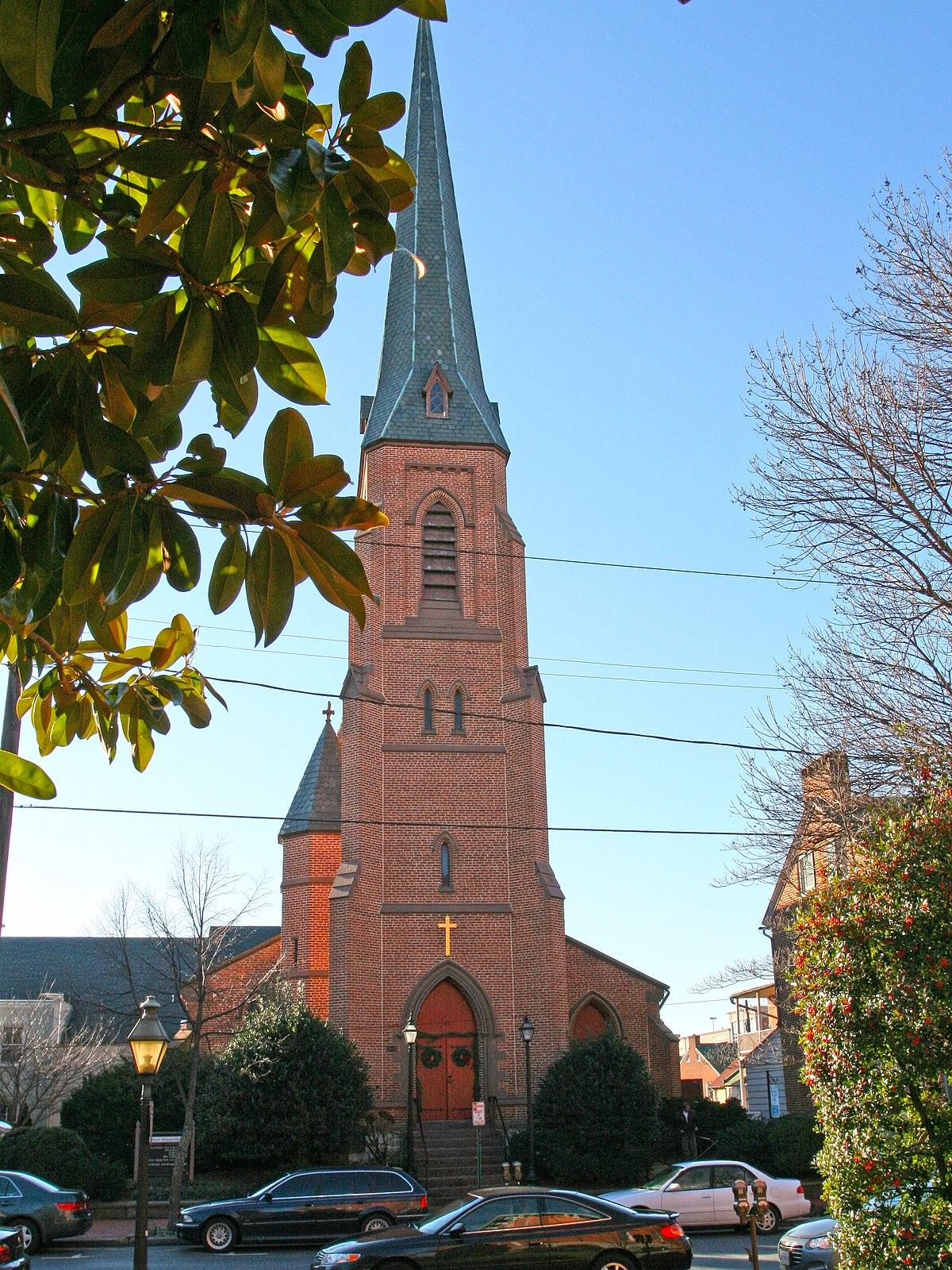 All Saints Church (Frederick, Maryland) - Wikipedia