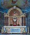 Altar of Immaculate Conception Parish Catanauan, Quezon.JPG