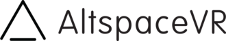 AltspaceVR - Image: Altspace VR logo