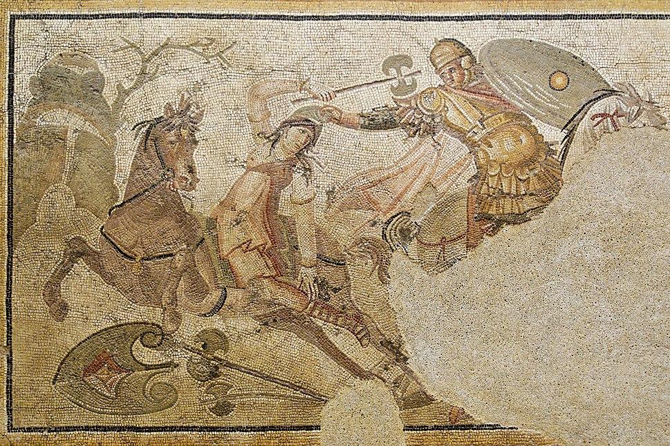 Amazonomachy Antioch Louvre Ma3457