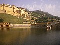Amber Fort and Jaigarh Fort together, Jaipur, Rajasthan.jpg