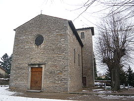 The church in Ambérieux