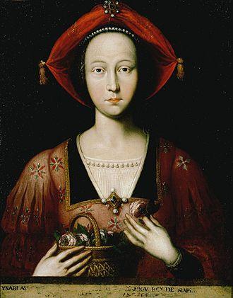 Isabella, Duchess of Lorraine - Image: Ambito francese Isabella di Lorena, regina di Napoli