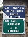 Amplepuis - Parc Adolphe Deteix - Plaque (mai 2019).jpg