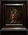 Amsterdam - Rijksmuseum 1885 - The Gallery of Honour (1st Floor) - The Love Letter 1669-70 by Johannes Vermeer.jpg