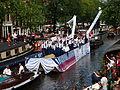 Amsterdam Gay Pride 2013 boat no9 Police pic4.JPG