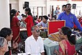 An eye testing camp in progress at the Public Information Campaign organised by the PIB, Cochin, at Orkatteri, Kozhikode district, in Kerala on December 29, 2015.jpg