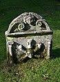 An old gravestone in Humbie Parish Churchyard - geograph.org.uk - 1014222.jpg