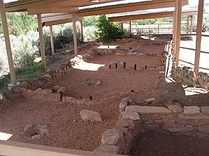 Anasazi State Park Museum - Ancient Anasazi ruins at Anasazi State Park Museum