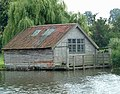 Ancient Boathouse, Brick Kiln Reach, River Yare - geograph.org.uk - 721676.jpg