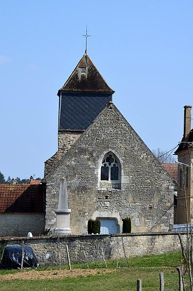 Eglise d'Ancy le Libre, Yonne, Bourgogne, France