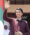 Andry Rajoelina greeting crowd.jpg
