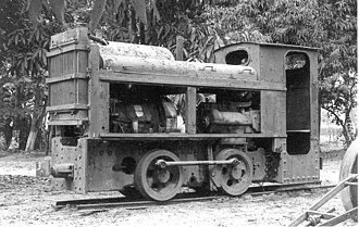 0-4-0 - Catumbela Sugar's diesel shunter no. 963, Angola