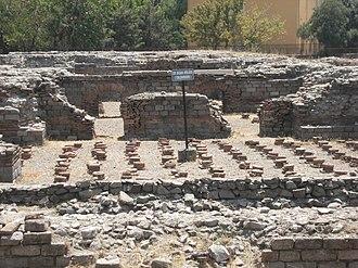 Roman Baths of Ankara - Image: Ankara Roma Hamamı Caldarium