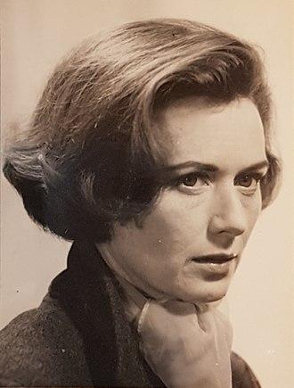 Ann Gillis - Ann Gillis in 1966, photo taken by her husband Richard Fraser