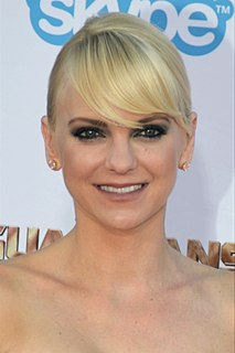 Anna Faris American actress, voice artist, producer, podcaster, and author