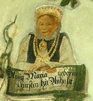 Anna Maria of Anhalt - Image: Anna Maria of Anhalt