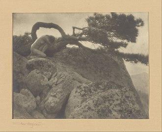 Anne Brigman - Image: Anne W. Brigman (American (The Lone Pine) Google Art Project