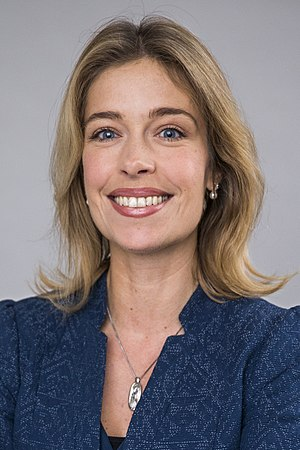 Head of the Ministry for Health and Social Affairs (Sweden) - Image: Annika Strandhäll 2014 10 29 001