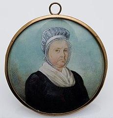Miniatuurportret van Elisabeth Rosmolen