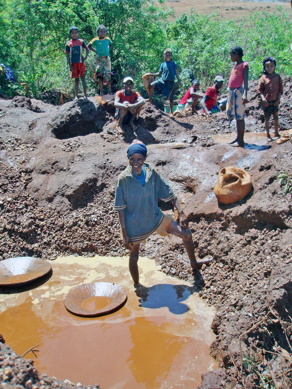 Mining Industry Of Madagascar Wikipedia