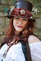 Another lovely lass with a Steampunk hat (8195132592).jpg